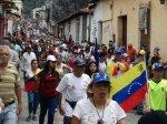 Marcha democrática Mérida 19 de abril 201714