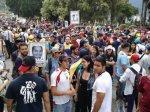 Marcha democrática Mérida 19 de abril 201716