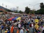 Marcha democrática Mérida 19 de abril 20172