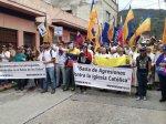Marcha democrática Mérida 19 de abril 201725