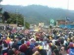 Marcha democrática Mérida 19 de abril 20173