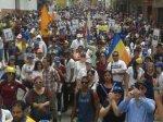Marcha democrática Mérida 19 de abril 20175