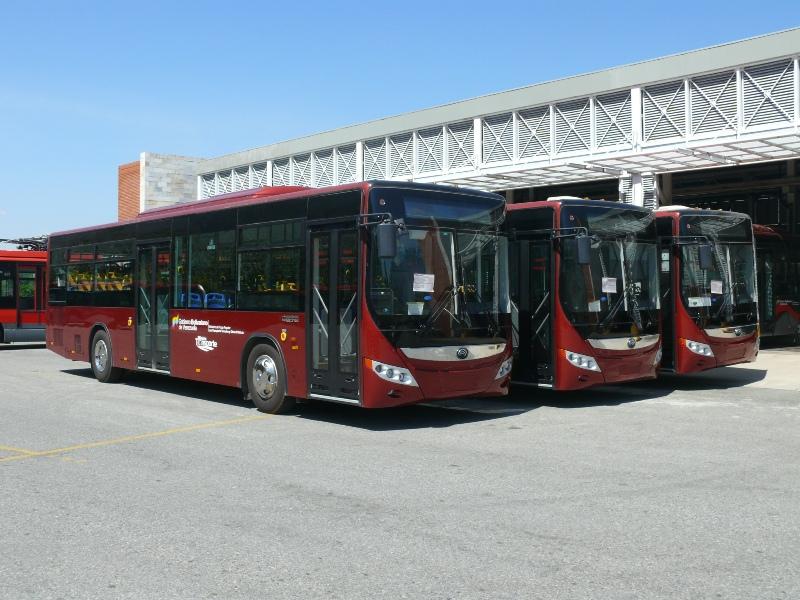 Llegan más buses Yutong a Mérida para fortalecer sistemas de ...