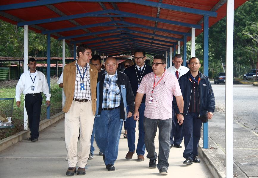 Representante del mppeuct visit el nurr ula trujillo for Oficina fisica ing
