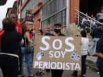 Protesta de periodistas en Mérida 16-03-2016 (1)