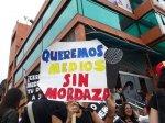 Protesta de periodistas en Mérida 16-03-2016 (15)