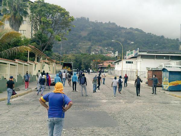 Disturbios Las Améridas 2015